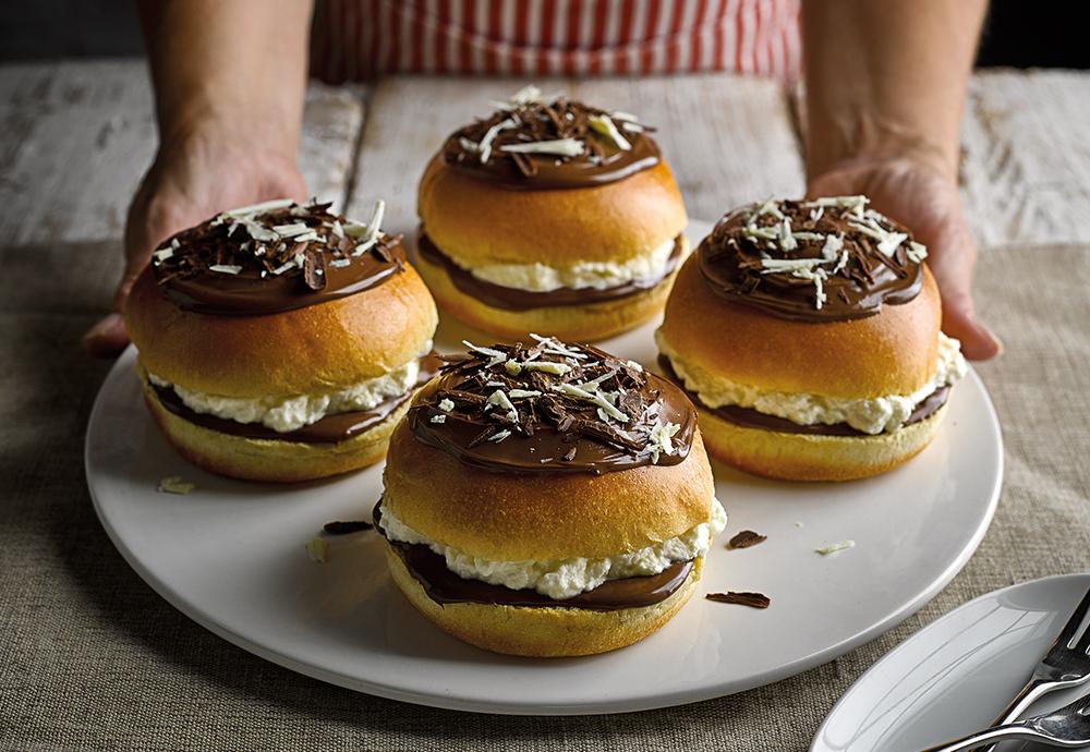 donut brioche burger buns