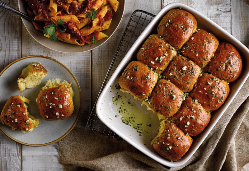 brioche sliders garlic bread